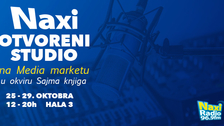 Naxi otvoreni studio na Media marketu