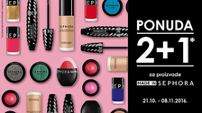 Made in Sephora akcija 2+1