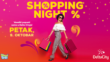 Shopping night ovog petka u Delta City-ju