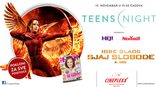 Teens night u Cineplexx bioskopima