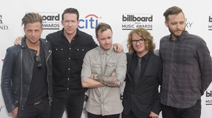 One Republic nastupa na MTV EMA