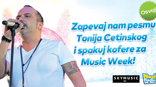 Naxi radio te vodi na Music Week
